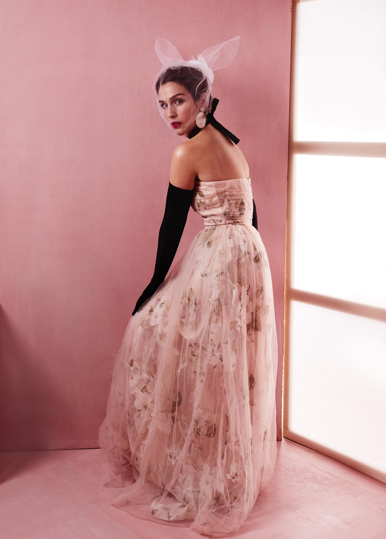 Studio photoshoot Montreal ecommerce clothing designer dresses