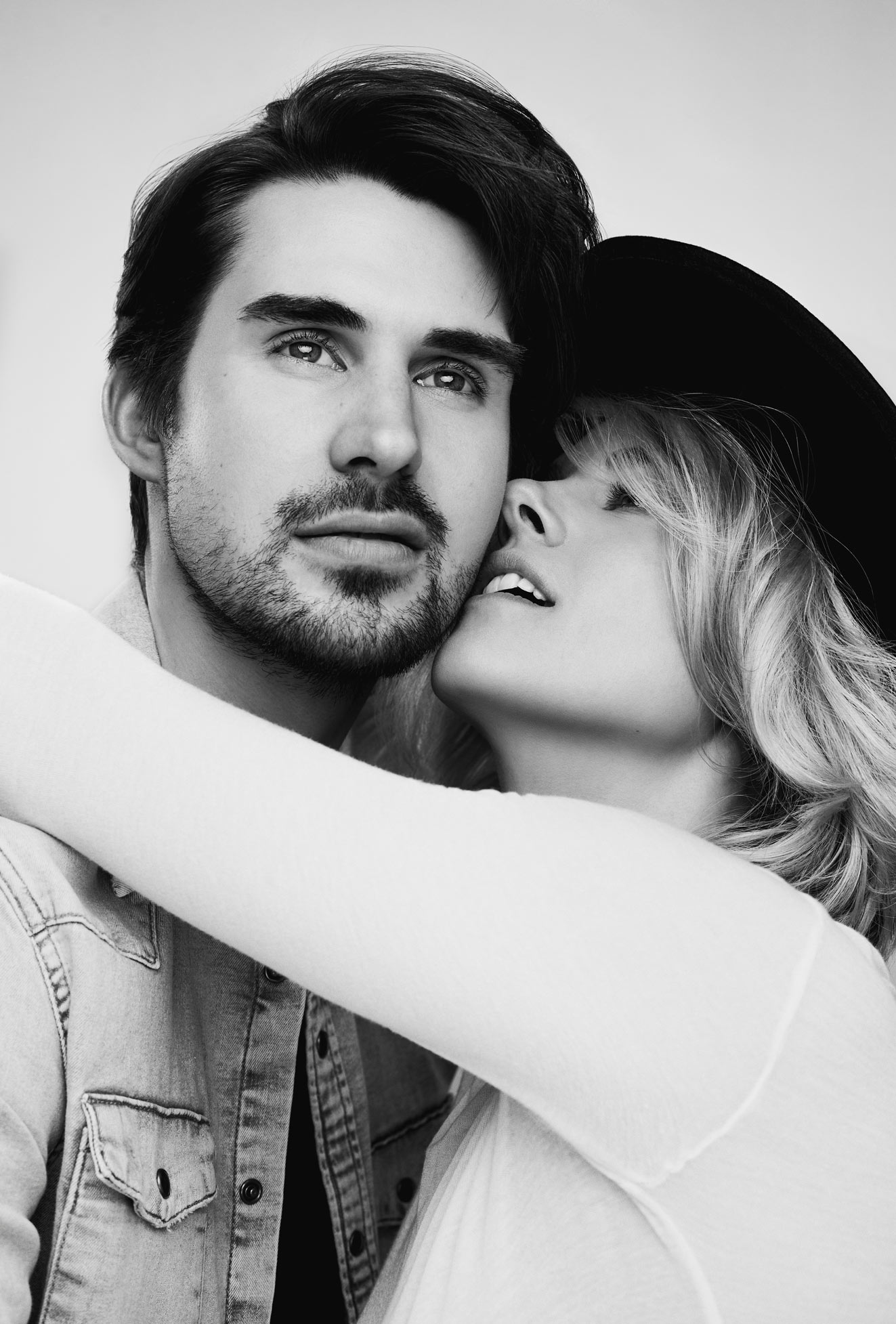 Shooting photo de couple en studio à Montréal