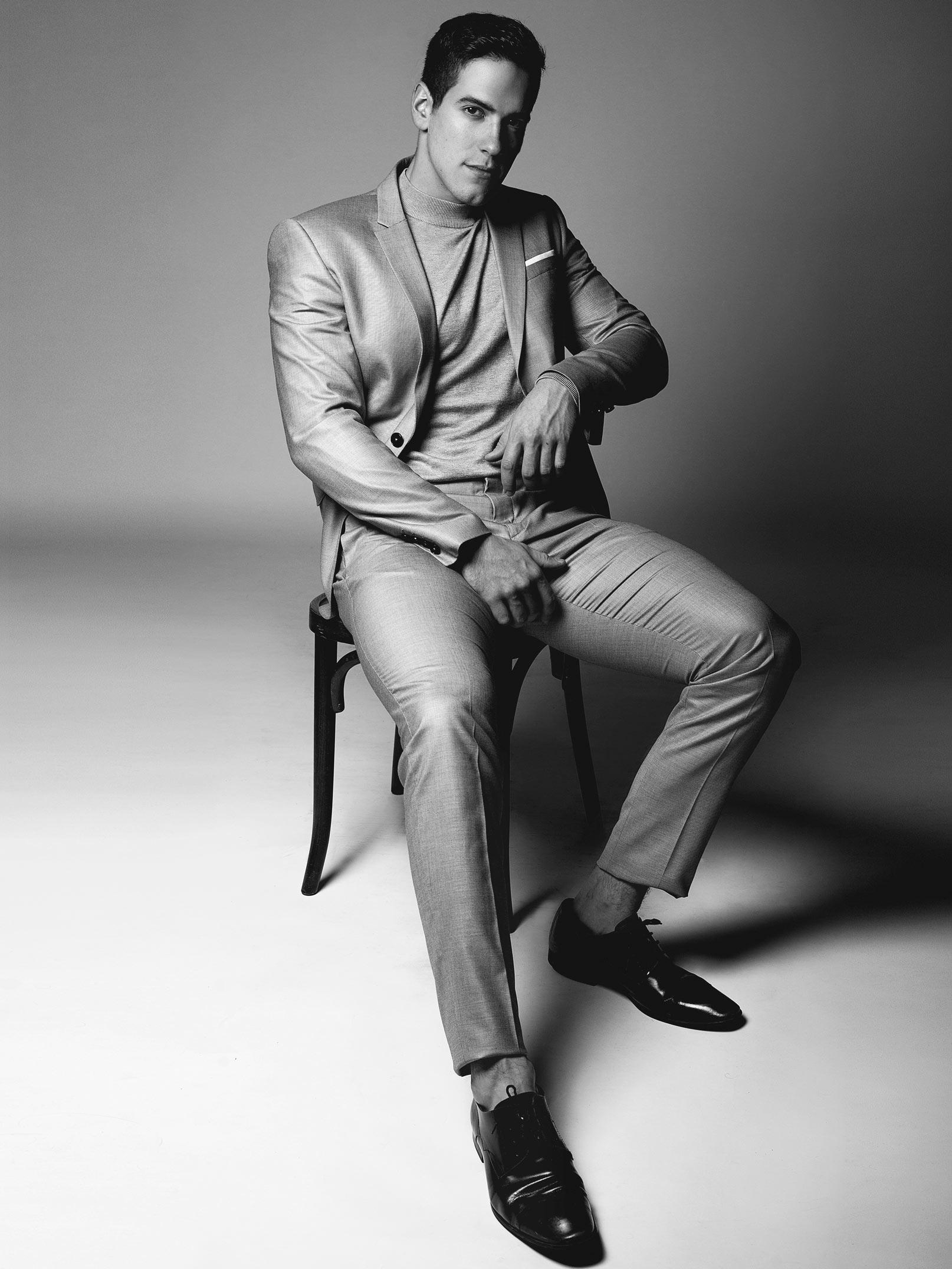 Mathieu Pellerin candidat finaliste à Occupation double Afrique du Sud et mannequin dans l'agence Ema à Drummondville.