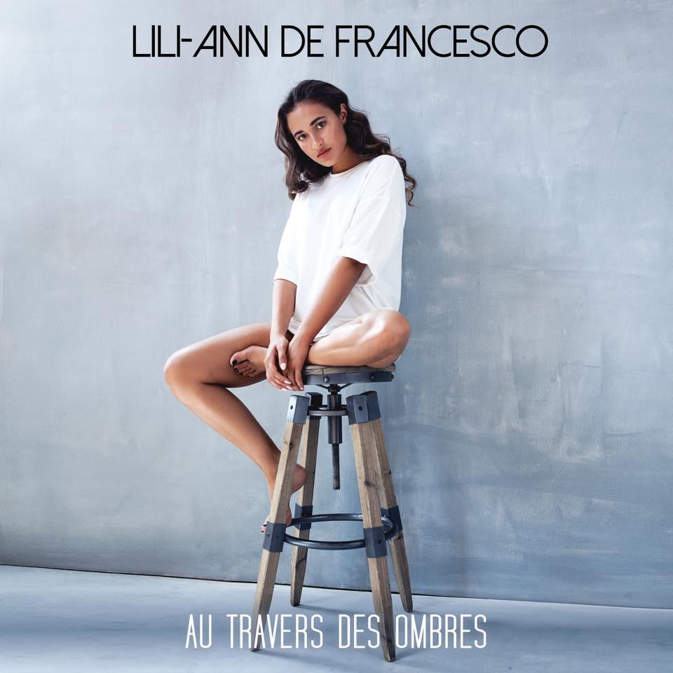 """Dariane Sanche photographe Album musique pour la chanteuse Lili-Ann de francesco """"Au travers des ombres"""""""