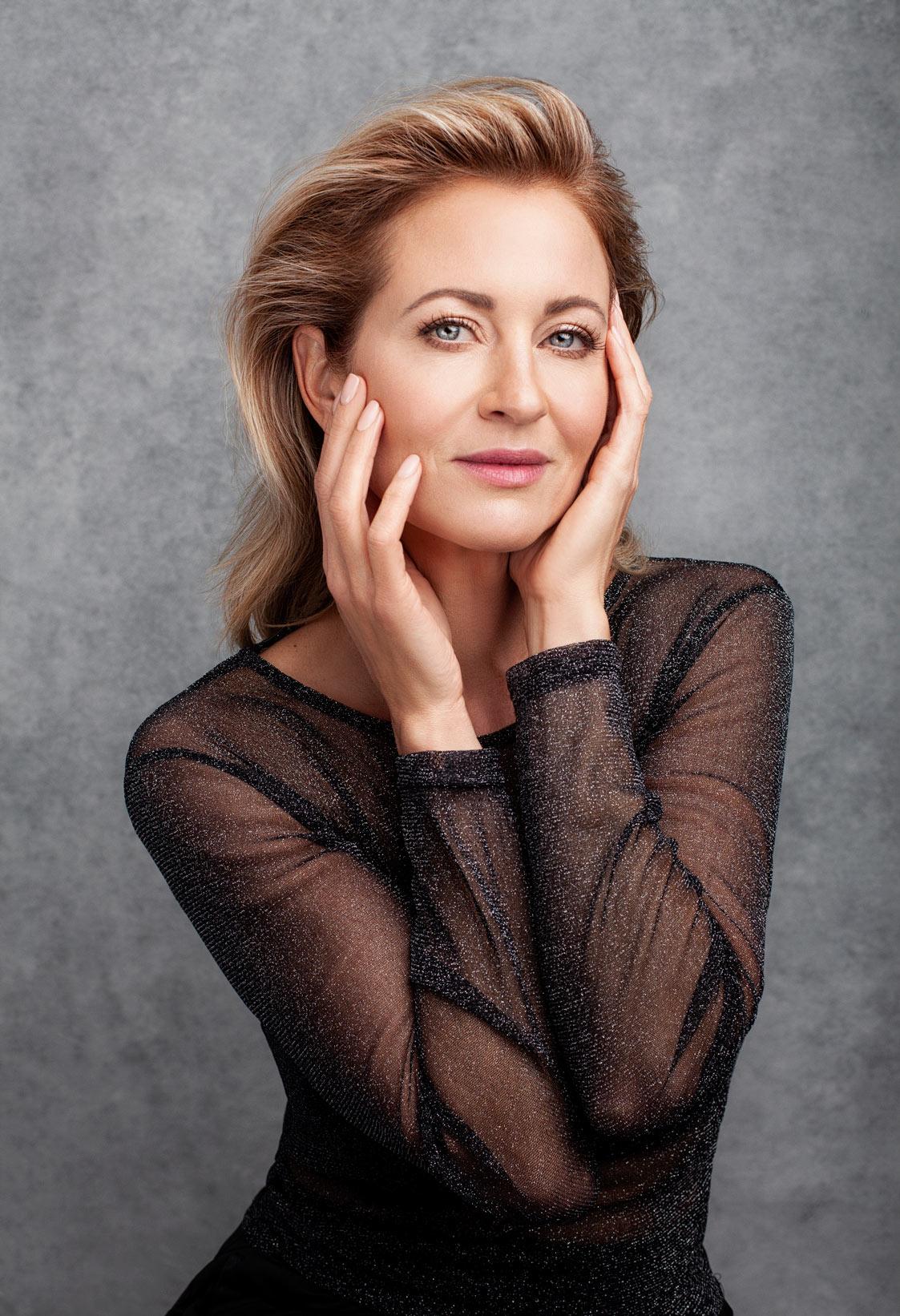 Clodine Desrochers photographié par la photographe professionnelle Dariane Sanche, portrait beauté mode artistique