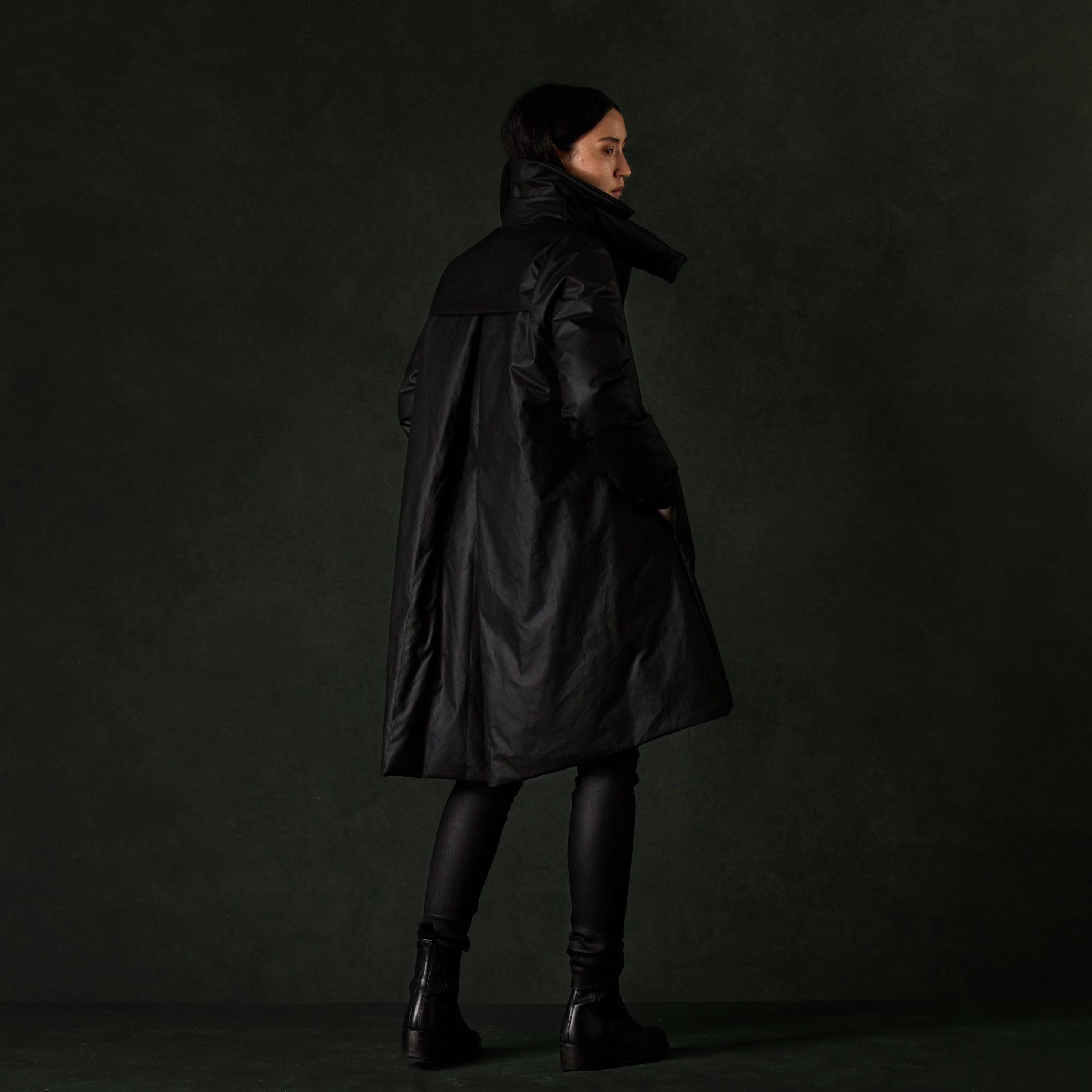 Photographe spécialisé en vêtement et manteaux de prestige luxueux