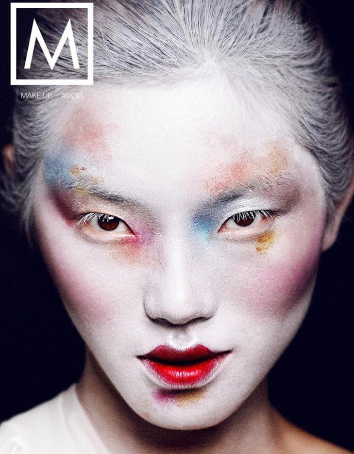 Montreal fashion and beauty photographer, cover magazine makeup