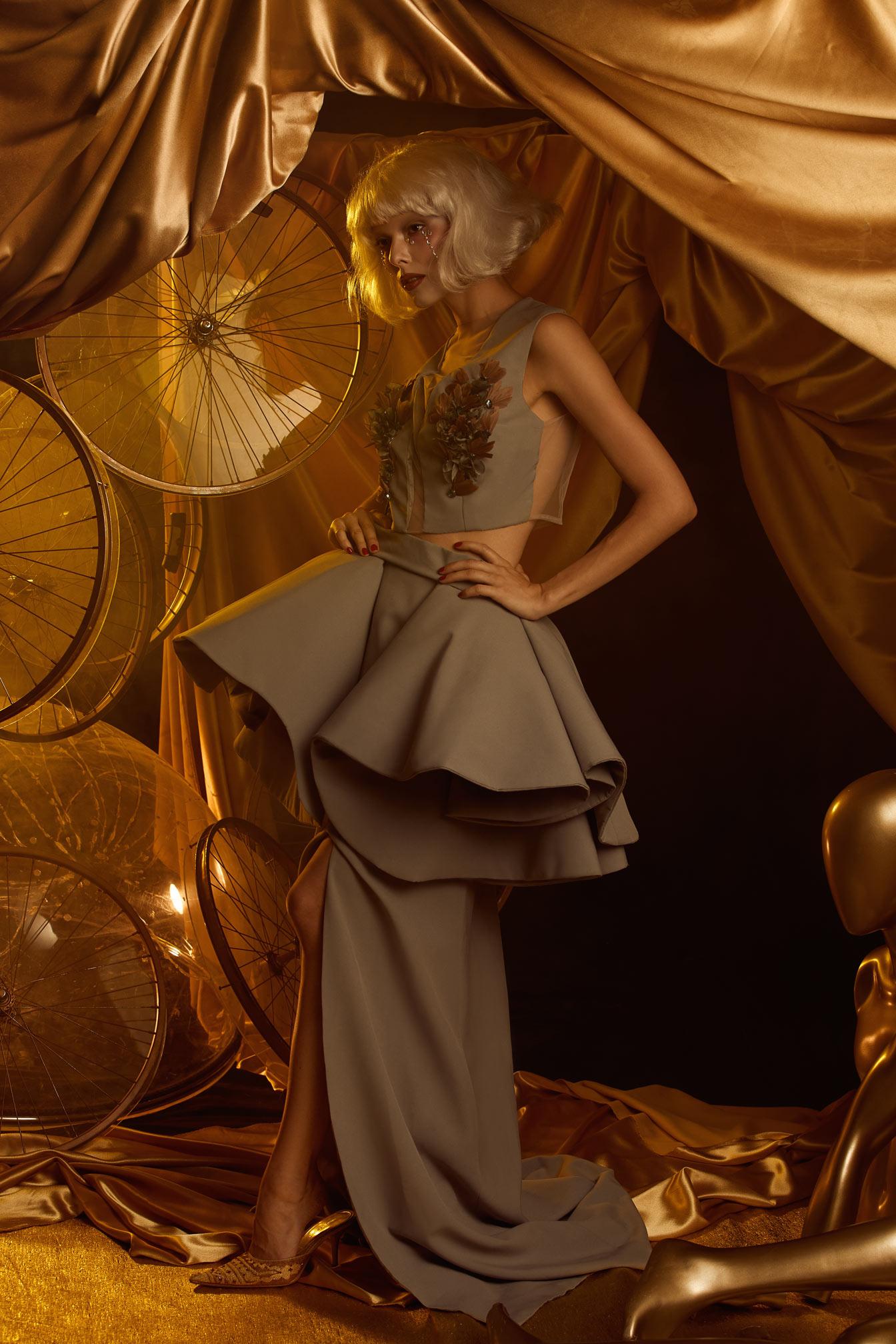 Photographe haute couture conceptuel cirque du soleil