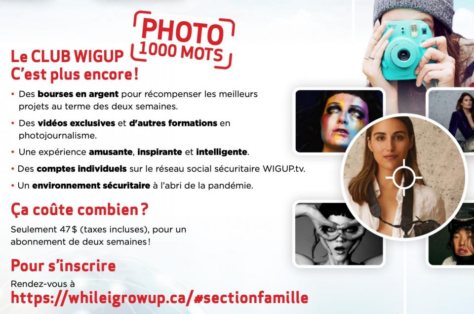 Photography workshop with Dariane Sanche and the Wigup 1000 words photo club